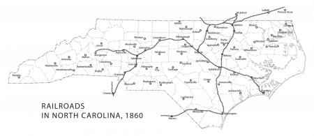 Unceduc I The Running Of The Railroads And Their Impact On - Map us railroads 1860
